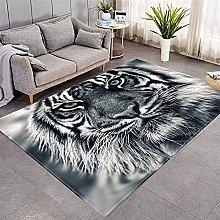 Modern Style Rug Grey tiger Rugs Living Room