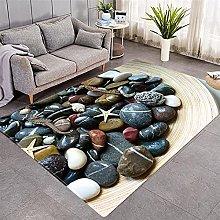 Modern Style Rug Grey Zen Stone Rugs Living Room