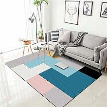 Modern Style Rug Soft Short Pile Carpets Color