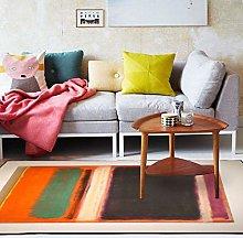 Modern Style Rug Soft Short Pile Carpets Fashion