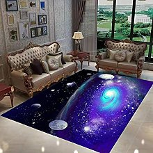 Modern Style Rug Soft Short Pile Carpets Purple