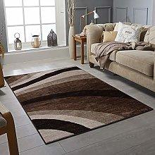 Modern Style Rug WAVES Design Rugs Living Room