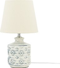 Modern Table Lamp Bedside Light Fabric Shade
