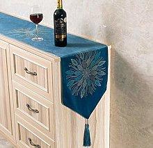 Modern Table Runner Flannel Diamond Marriage