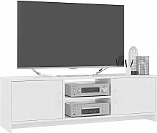 Modern TV Stand Unit Wooden TV Cabinet with 2 Door