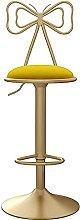 Modern Velvet Bar Chair With Backrest, Kitchen