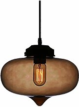 Modern Village Multicolour Glass Lampshade Hanging