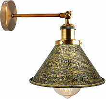 Modern Vintage Industrial Wall Mounted Light