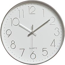 Modern Wall Clock, 30CM Large Decorative Universal