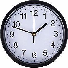 Modern Wall Clock, 8 Inch Big Numbers Silent