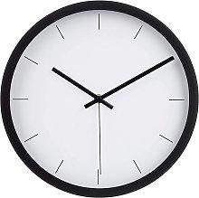 Modern Wall Clock, Black