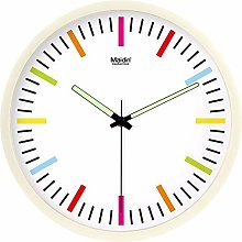 Modern Wall Clock for Any Room in Home Dining Room