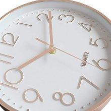 Modern Wall Clock, Silent Non-Ticking Modern