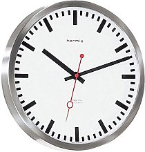 Modern Wall Clock with Radio-Controlled clock,