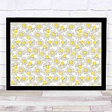 Modern Wall Decoration Apothecary Spring Chamomile
