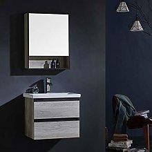 Modern Wall Hung Vanity Unit Bathroom Sink Cabinet