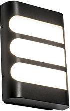 Modern wall lamp black incl. LED IP44 - Gaev