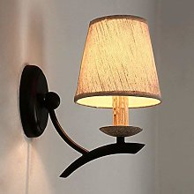 Modern Wall Lamp E27 Iron Wall Lamp Next to Bed