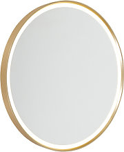 Modern wall lamp gold incl. LED IP44 with mirror -