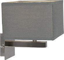 Modern wall lamp gray - VT 1