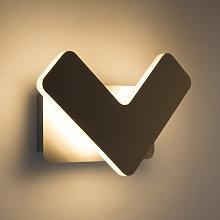 Modern wall lamp LED steel - Check