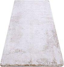 Modern washing carpet LAPIN shaggy, anti-slip