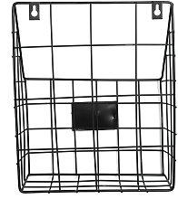 Modern Wire Magazine Journal Basket Basket Mail
