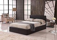 Modernique® Bilancio Ottoman Storage Faux_Leather
