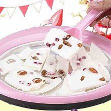 MODGS Roll Ice Cream Maker with 2 Spatulas Round