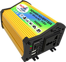 Modified sine wave inverter, output 110V yellow