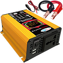 Modified sine wave inverter, output 110V yellow,