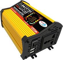 Modified sine wave inverter, yellow 110V (label