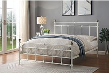 Modoc Bed Frame with Mattress Lily Manor Size: