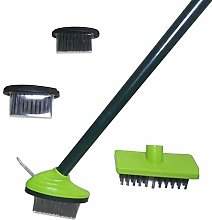 Modonghua Patio Weed Brush Set, 3 In 1 Cordless