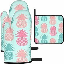 MODORSAN Colorful Pineapple Oven Mitts and Pot