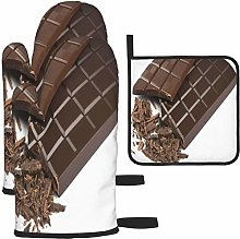 MODORSAN Food Sweet Dessert Chocolate Oven Mitts