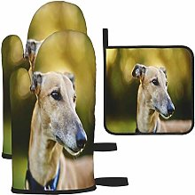 MODORSAN Greyhound Oven Mitts and Pot Holders Non