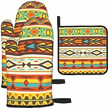 MODORSAN Native American Pattern Borders Oven