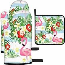 MODORSAN Tropical Flamingo Pattern Design Oven