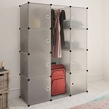 Modular Cabinet with 9 Compartments 37x115x150 cm