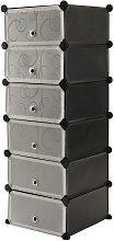 Modular shelving closet storage organizing 6