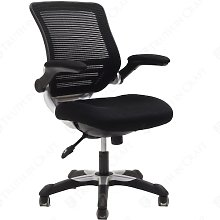 Modway Edge Back Seat Office Chair, Blue Mesh, 66