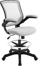 Modway Reception Desk Chair, Gray, 66 x 66 x 107 cm