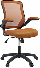 Modway Veer Office Chair with Mesh Back and Tan