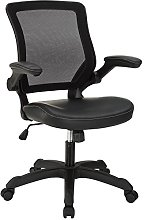 Modway Veer Office Chair with Mesh Back and Vinyl