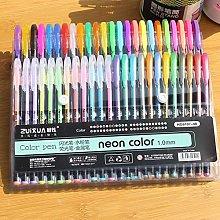 Moent Pen ZuiXua 48 Colors Gel Pens set Color