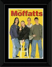 Moffatts - Yellow Background Framed and Mounted