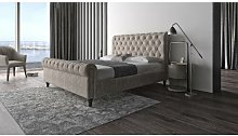 Moffet Upholstered Bed Frame Ophelia & Co. Size: