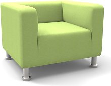 Moffitt Armchair Mercury Row Upholstery: Green
