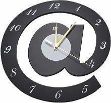 Mogzank Design Wall Clock Sign Arobase Quartz